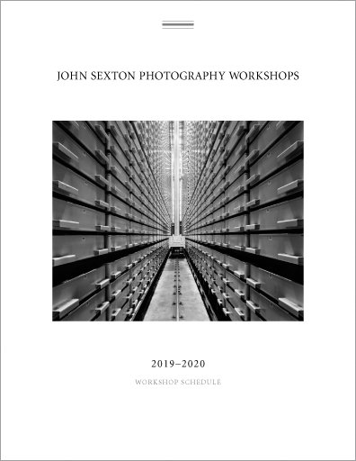 John Sexton Photography Workshops