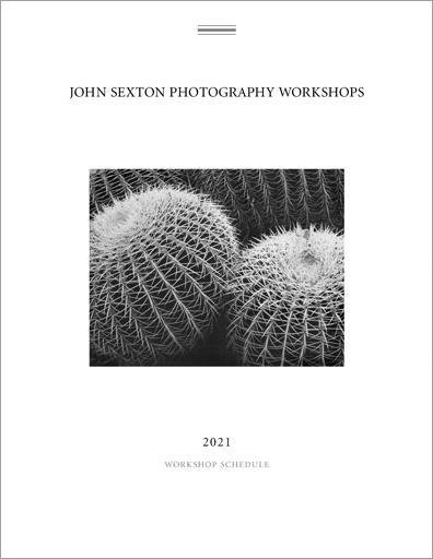 2021 John Sexton Photography Workshops