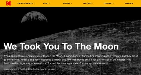 Kodak Lunar Web Site