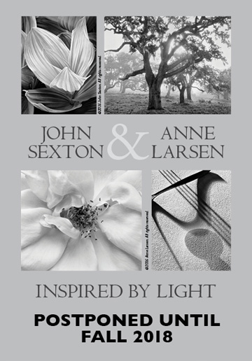 John Sexton + Anne Lasen Exhibit Postponed