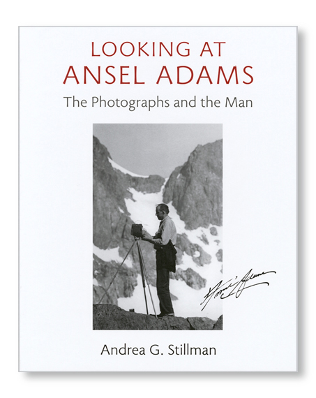Looking at Ansel Adams book
