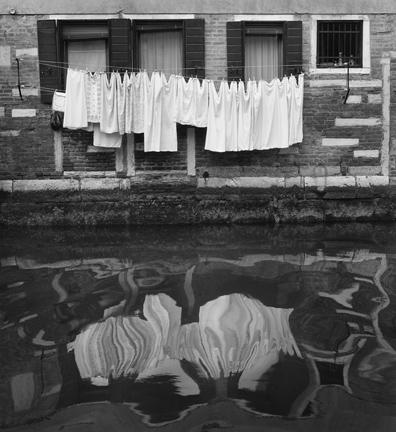 Sunday Laundry Venice by Anne Larsen
