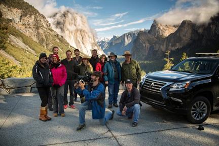 Lexus Ansel Adams Crew by Brian Vance