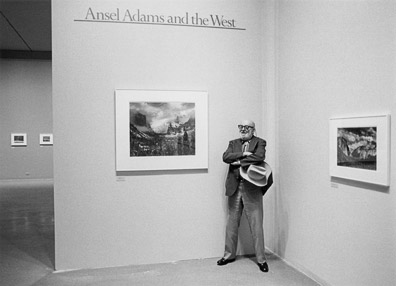 Ansel Adams at MoMA by John Sexton