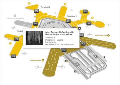 Sexton SFO Museum Show Map