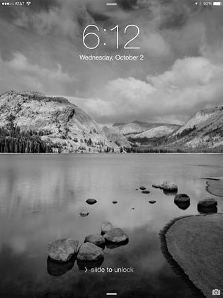 Tenaya Lake Sexton iOS 7